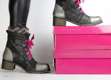 Chanii B   Festive footwear
