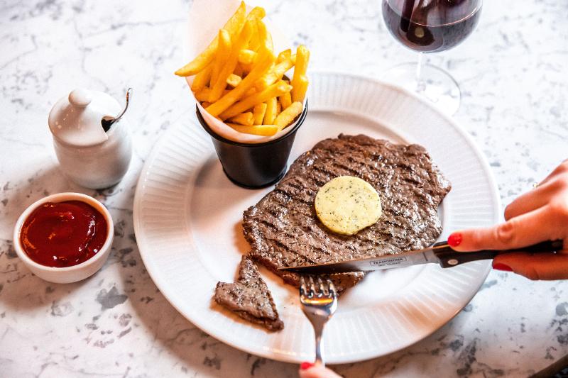 Cote Brasserie at Milsom Place_Steak Frites