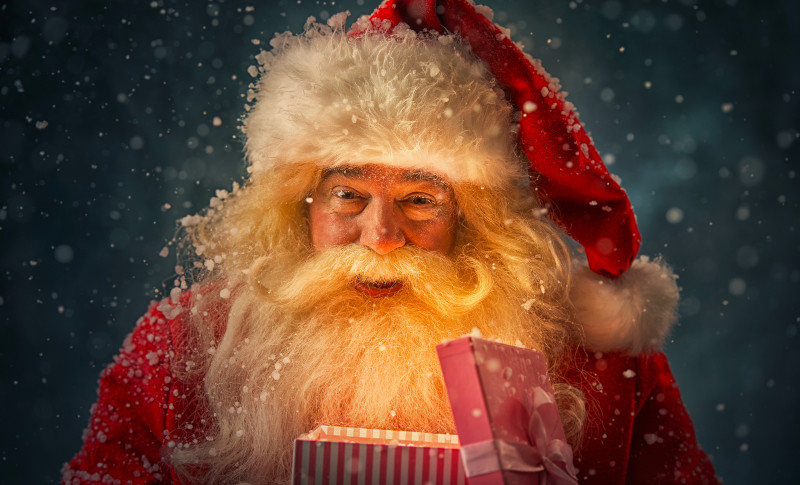Father Christmas advent trail