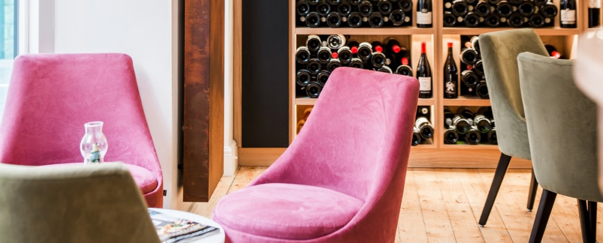 Le Vignoble wine lounge at Milsom Place