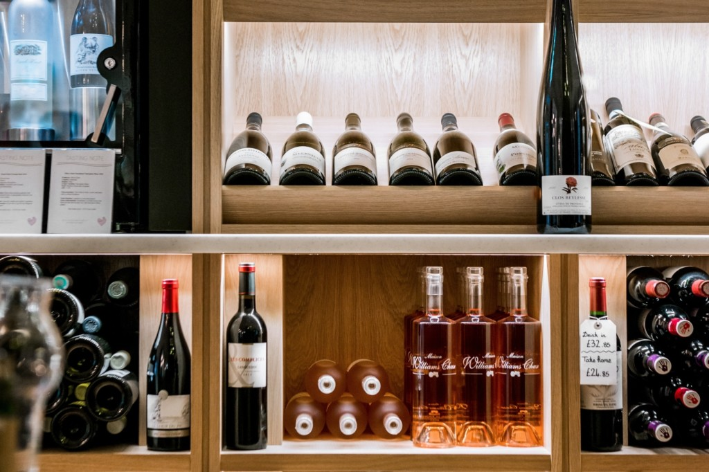 Le Vignoble wine retailer in Milsom Place