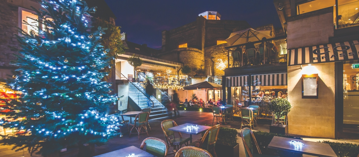 Milsom Place Christmas courtyards 2019