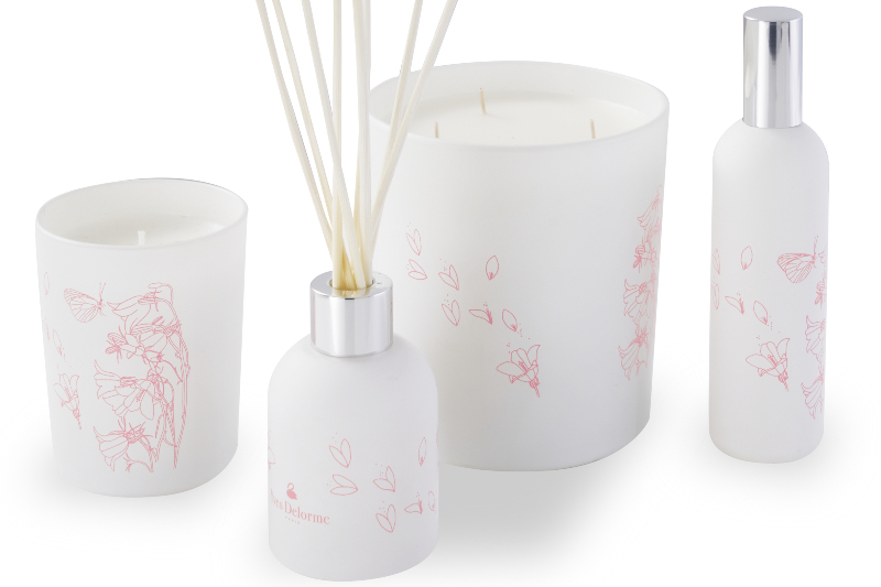 Yves Delorme_Rose diffuser candles_Xmas20 (1)
