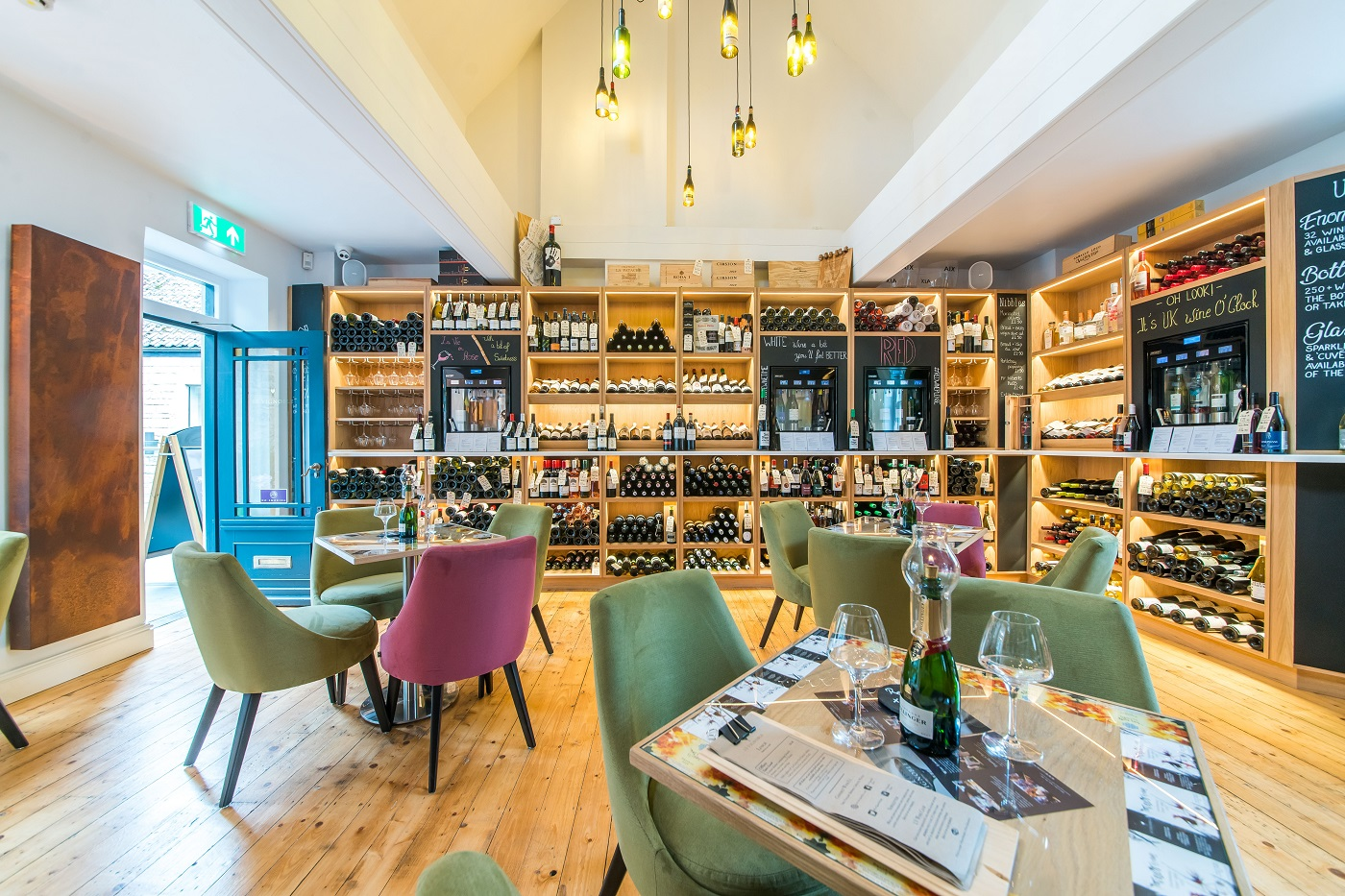 Le Vignoble wine lounge at Milsom Place