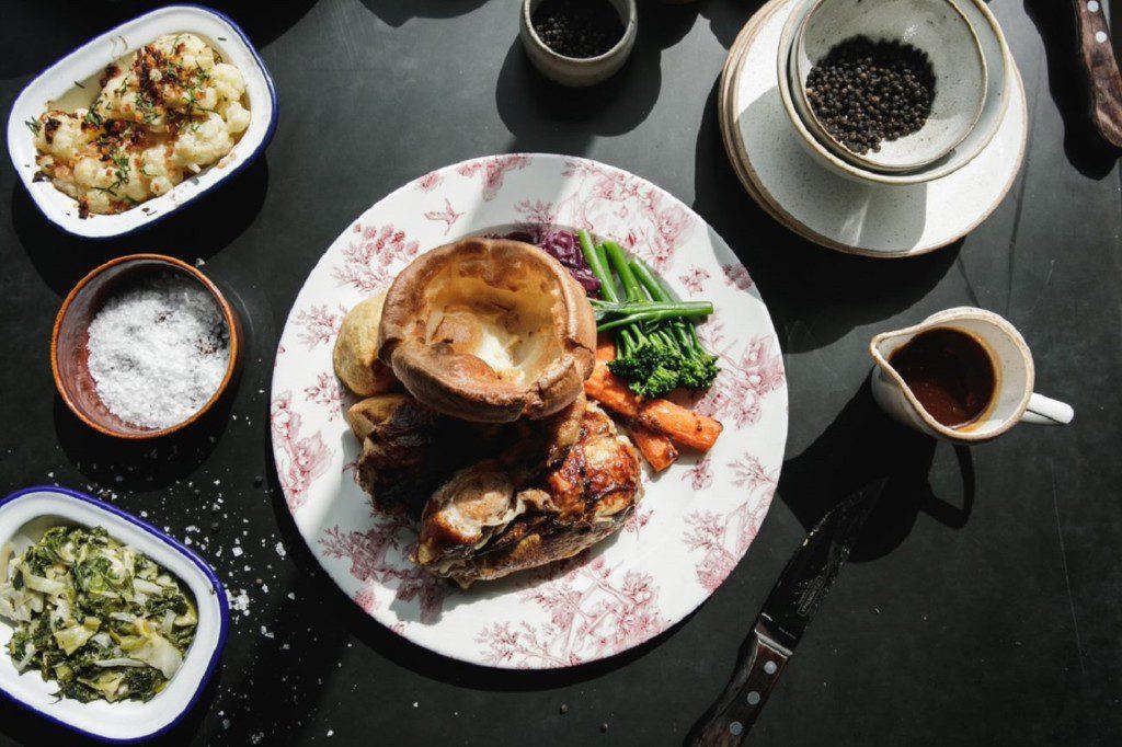 The Botanist Sunday roast