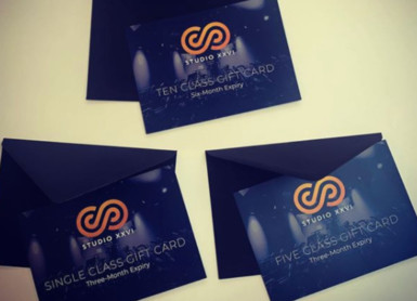 Studio XXVI | Gift cards