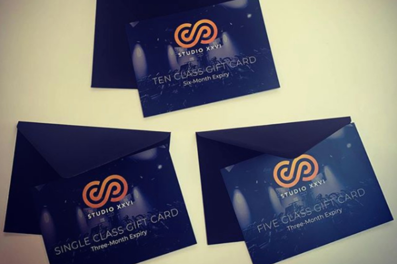 Studio XXVI | Gift cards