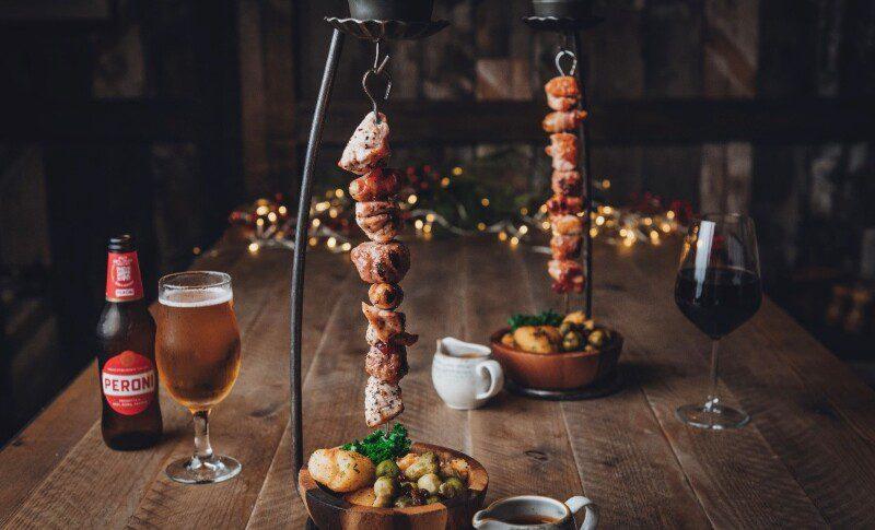 The Botanist   Christmas party menu