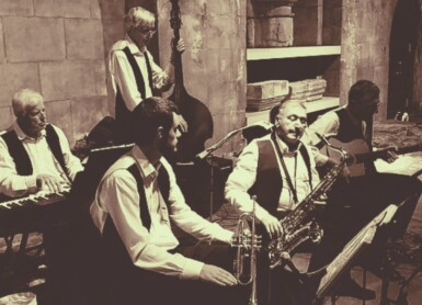 Thursday jazz at Bandook Indian Kitchen