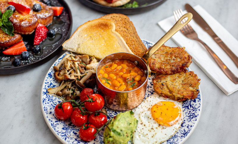 Bandook Indian Kitchen   Breakfast