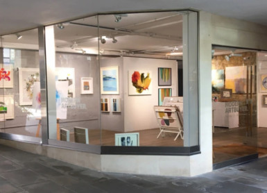 Pop up gallery with Modern ArtBuyer
