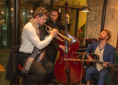 Friday jazz at Bandook Indian Kitchen