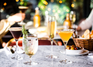 Côte Brasserie | Christmas cocktails