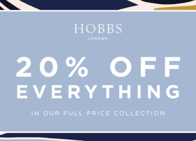 Hobbs | 20% off everything!