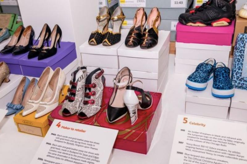 Chanii B in The Fashion Museum Bath