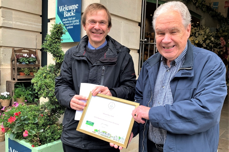 Milsom place wins South West In Bloom gold award!